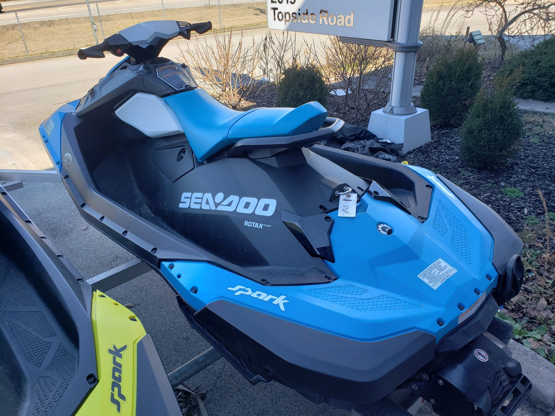 2016 Sea-Doo Spark 2up 900 H.O. ACE w/ iBR & Convenience Package Plus in Louisville, Tennessee - Photo 7