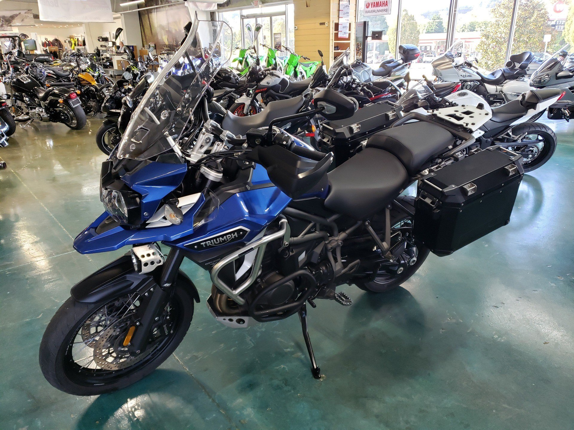 2017 Triumph Tiger Explorer XCA in Louisville, Tennessee - Photo 2