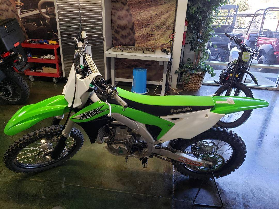 2017 Kawasaki KX450F in Louisville, Tennessee