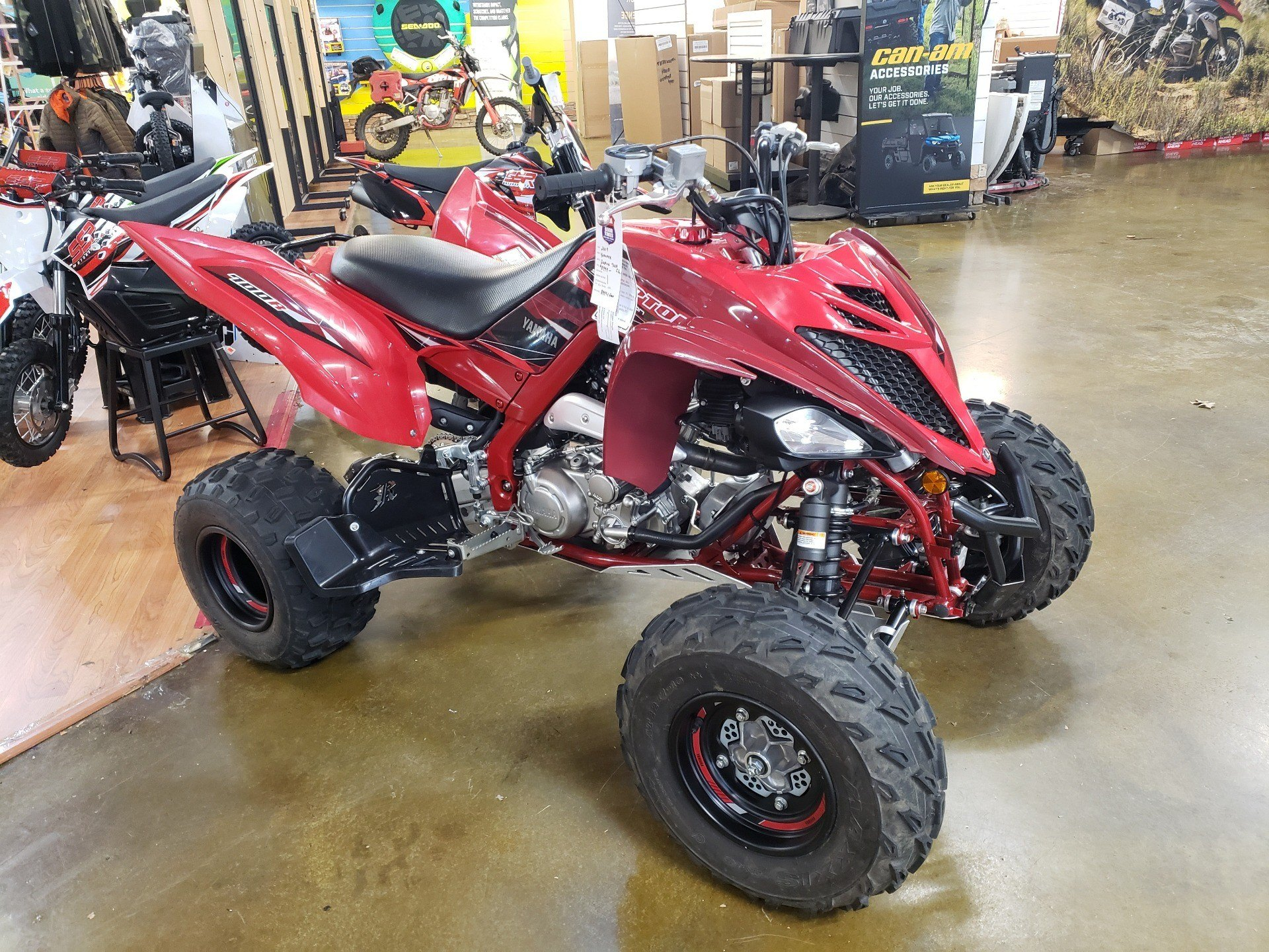 2019 Yamaha Raptor 700R SE in Louisville, Tennessee - Photo 1