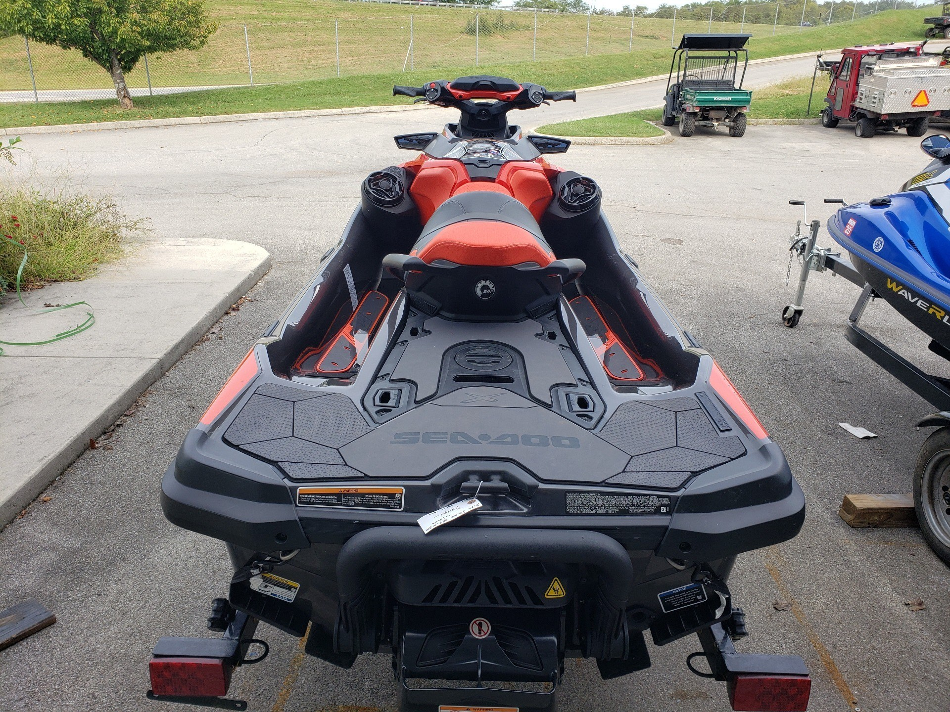 2020 Sea-Doo RXT-X 300 iBR + Sound System in Louisville, Tennessee - Photo 4