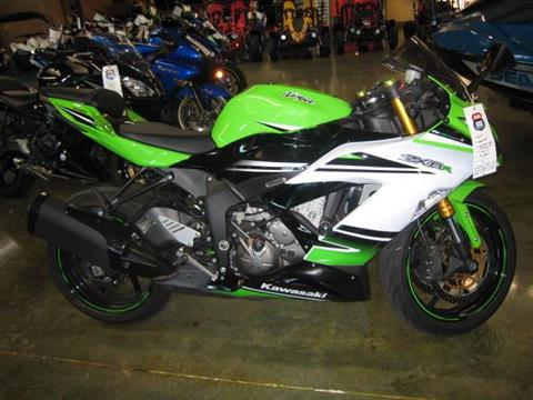 2015 Kawasaki Ninja® ZX™-6R ABS 30th Anniversary in Louisville, Tennessee