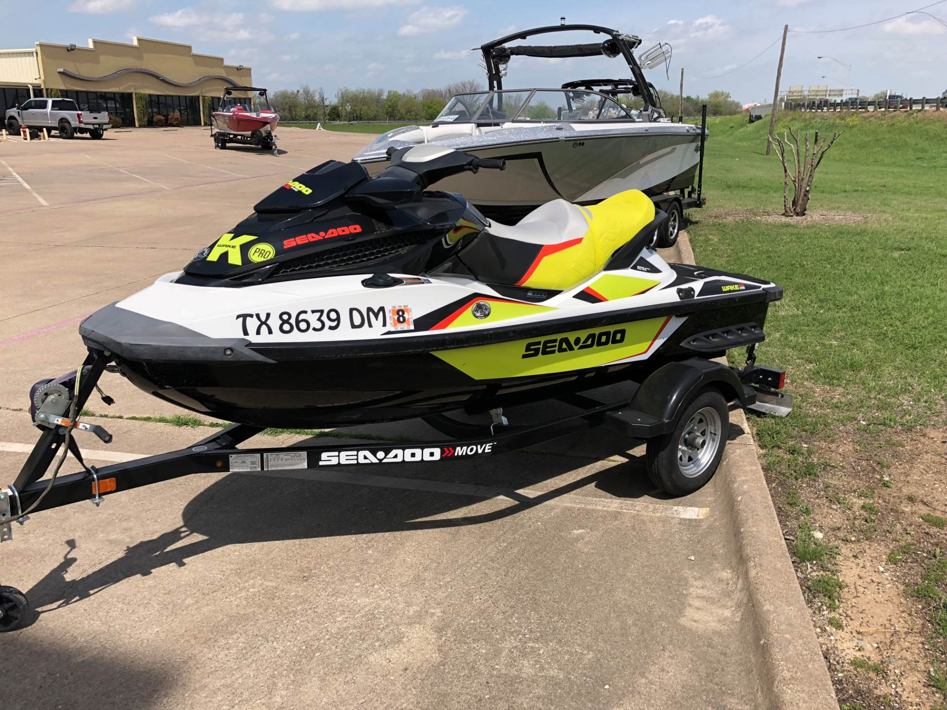 2015 Sea-Doo Wake Pro 215 in Fort Worth, Texas