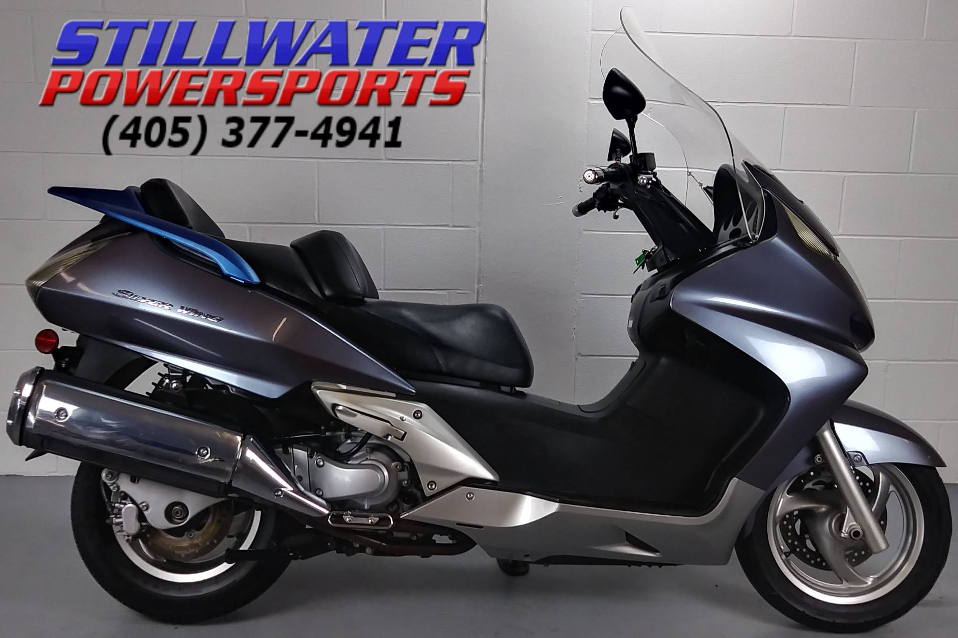 Used 2007 Honda Silver wing Scooters in Stillwater, OK   Stock ...