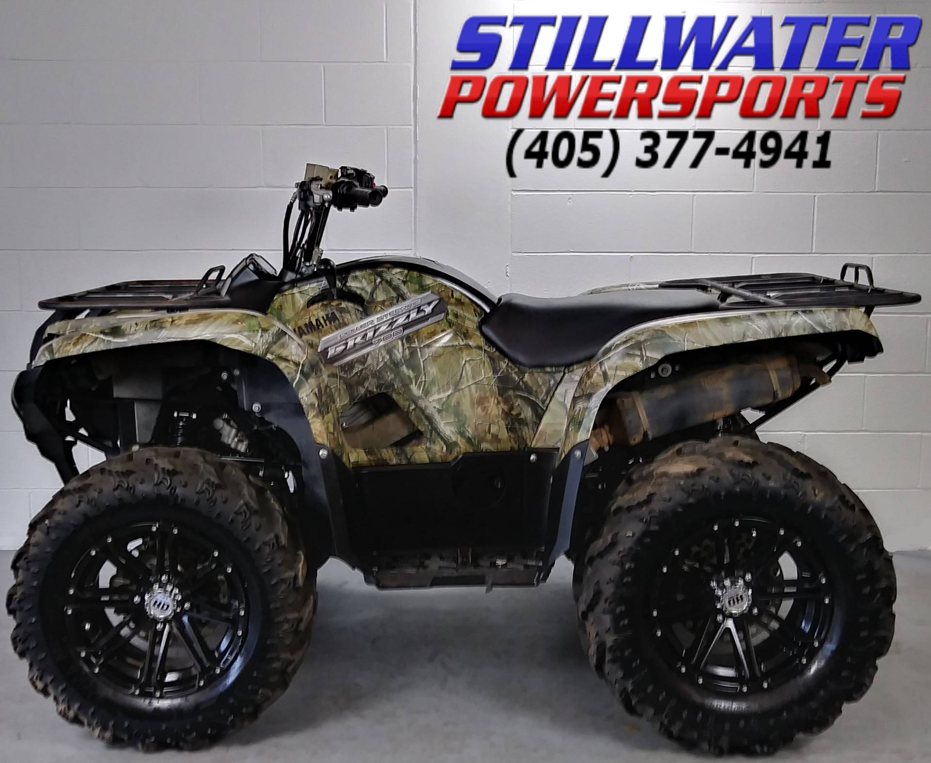 2013 Yamaha Grizzly 700 FI Auto. 4x4 EPS in Stillwater, Oklahoma - Photo 6