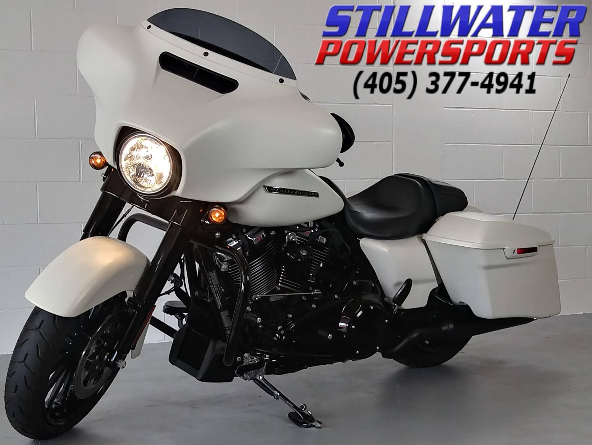 2018 Harley Davidson Street Glide In Stillwater Oklahoma
