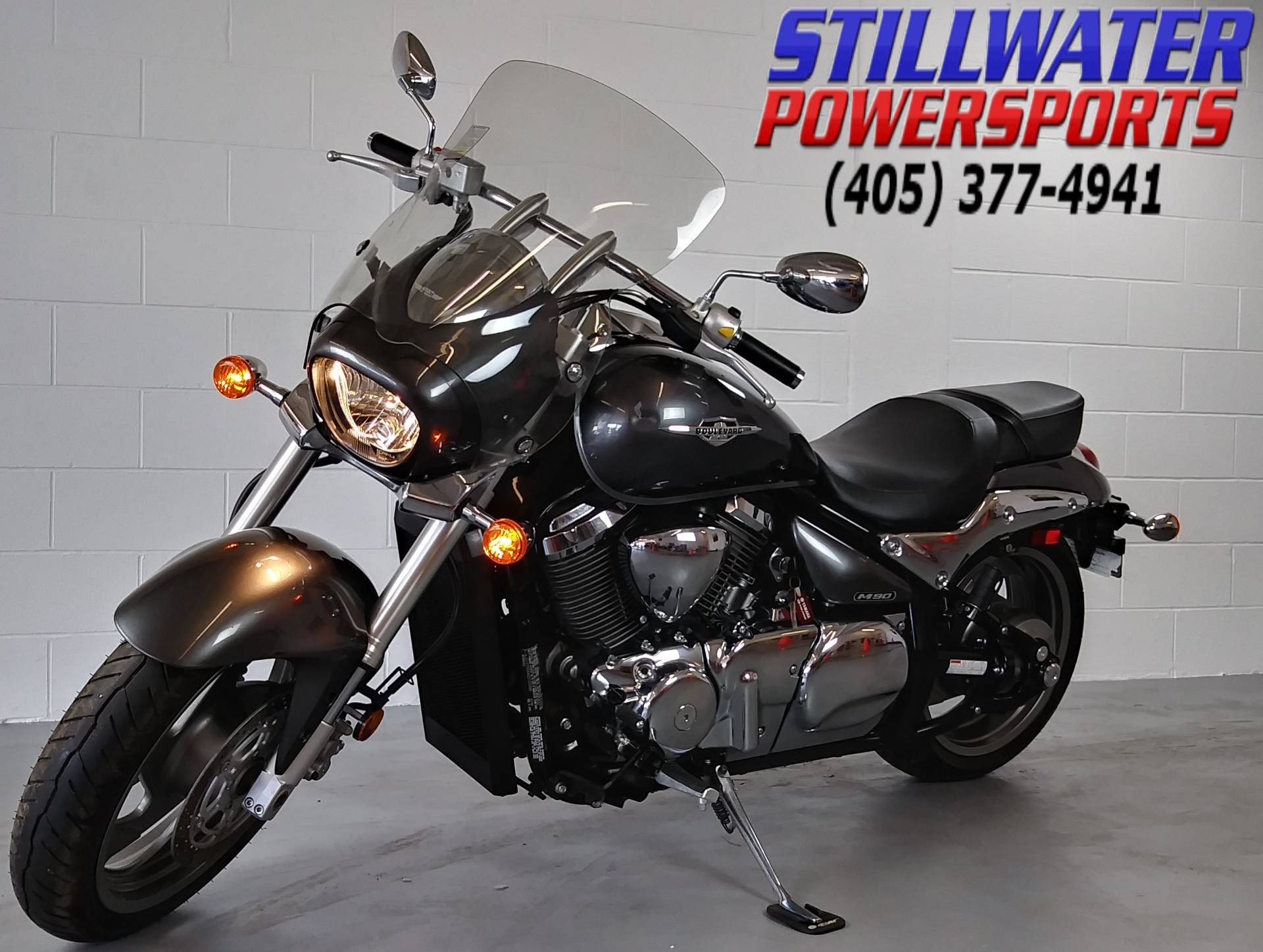 Used 2013 Suzuki Boulevard M90 Motorcycles In Stillwater Ok Stock History Of Motorcycle Engine Heat Control And Liquid Cooling Thunder Oklahoma