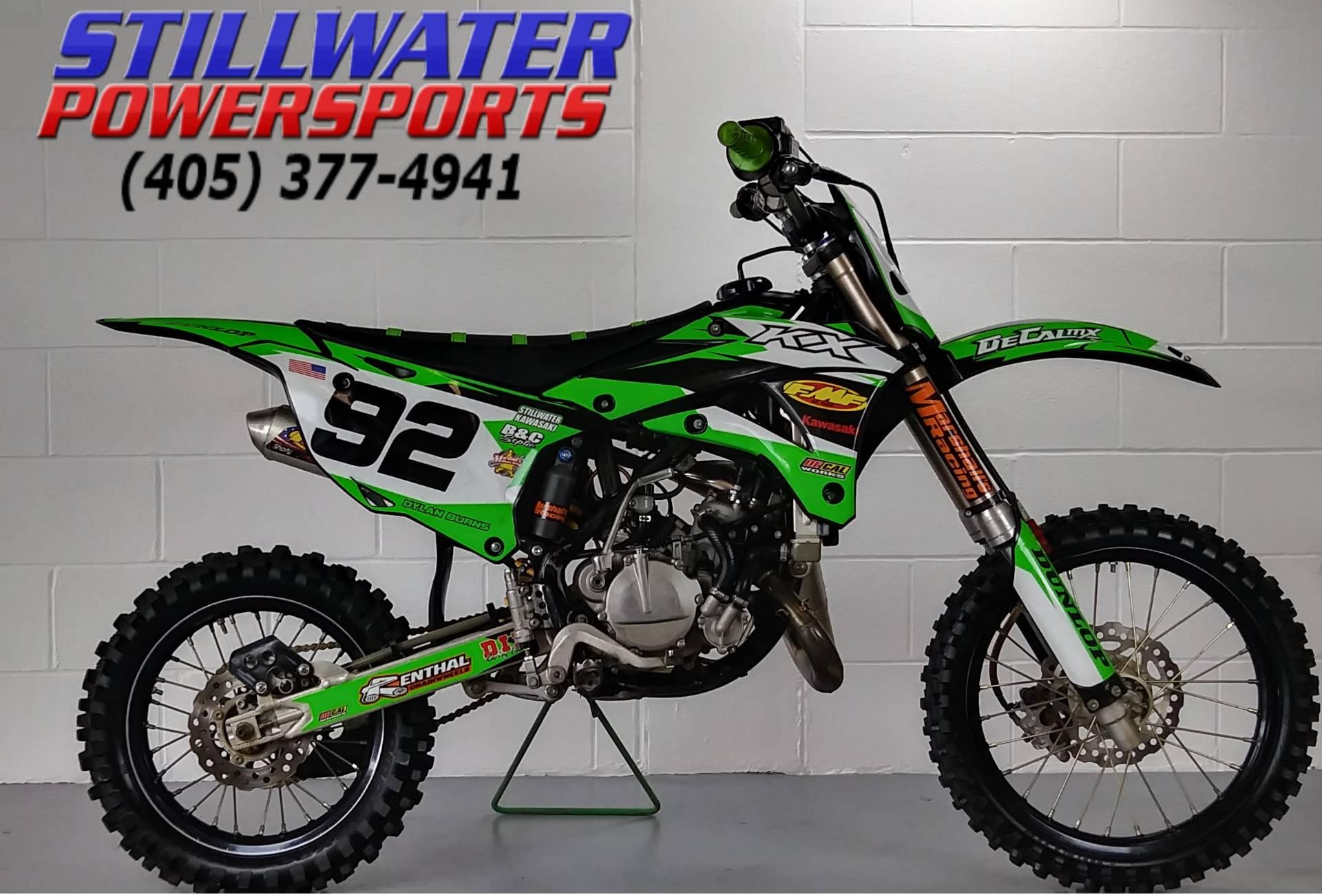 Used 2014 Kawasaki Kx85 Motorcycles In Stillwater Ok Stock