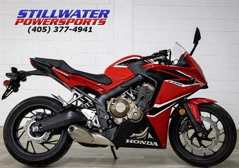 2018 Honda CBR650F in Stillwater, Oklahoma - Photo 1