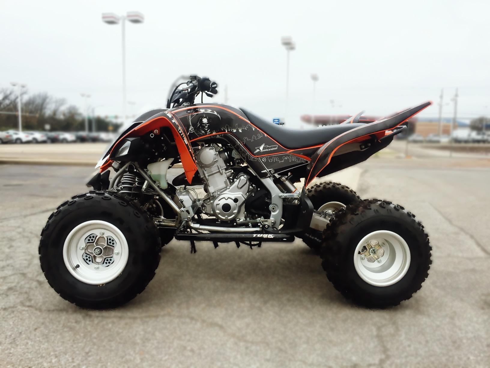 2014 Yamaha Raptor 700 4