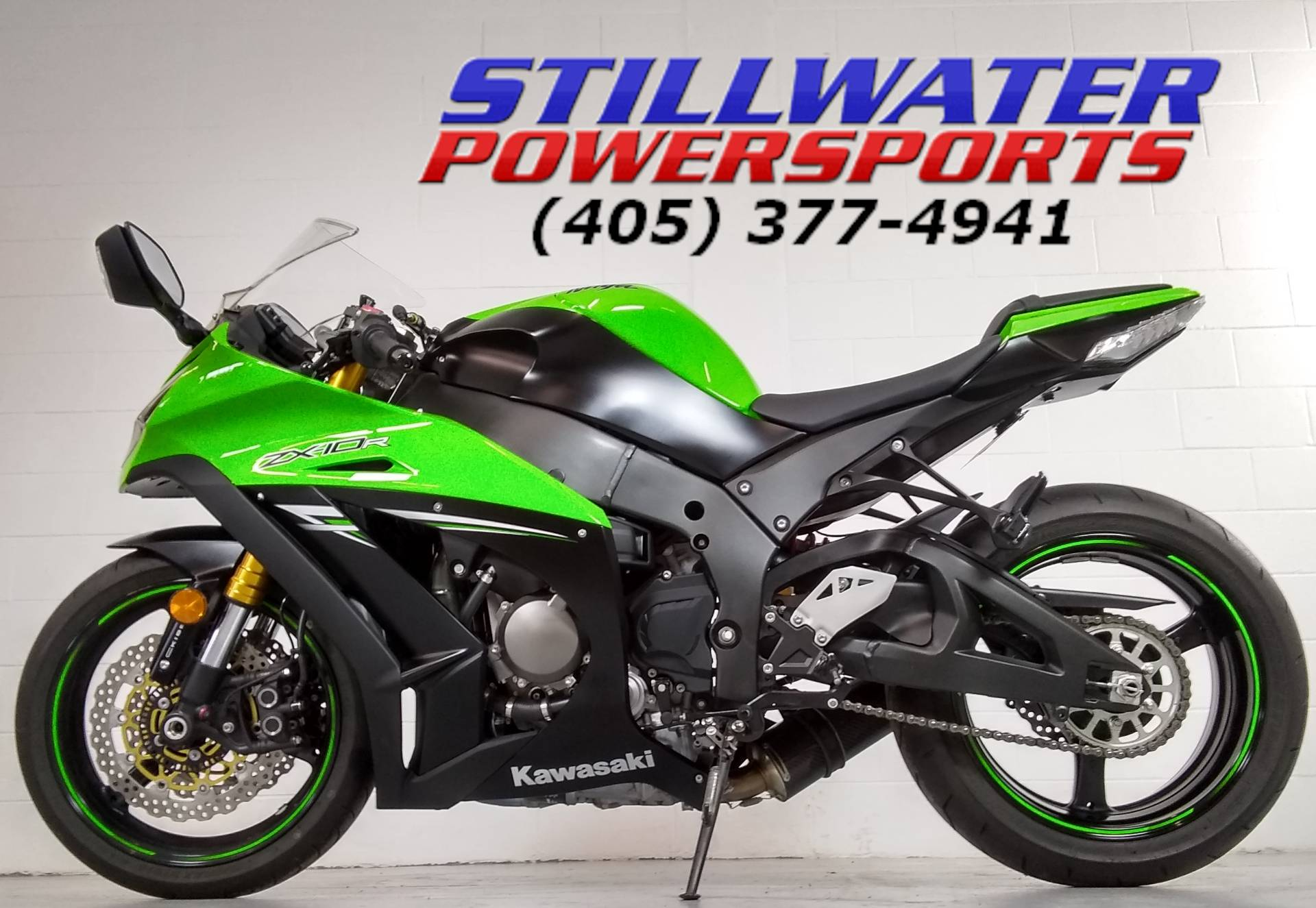 2014 Kawasaki Ninja® ZX™-10R ABS in Stillwater, Oklahoma - Photo 10