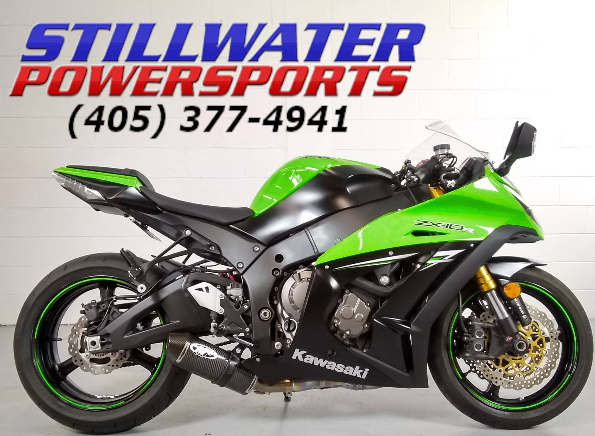 2014 Kawasaki Ninja® ZX™-10R ABS in Stillwater, Oklahoma - Photo 1