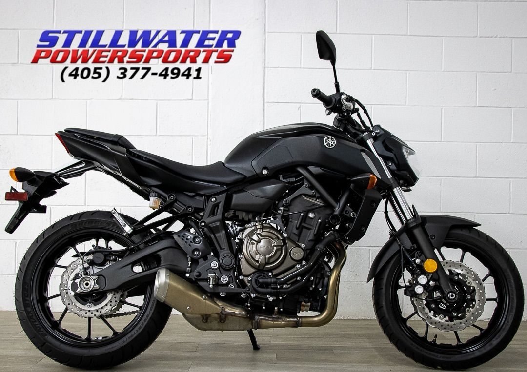 2020 Yamaha MT-07 in Stillwater, Oklahoma - Photo 1