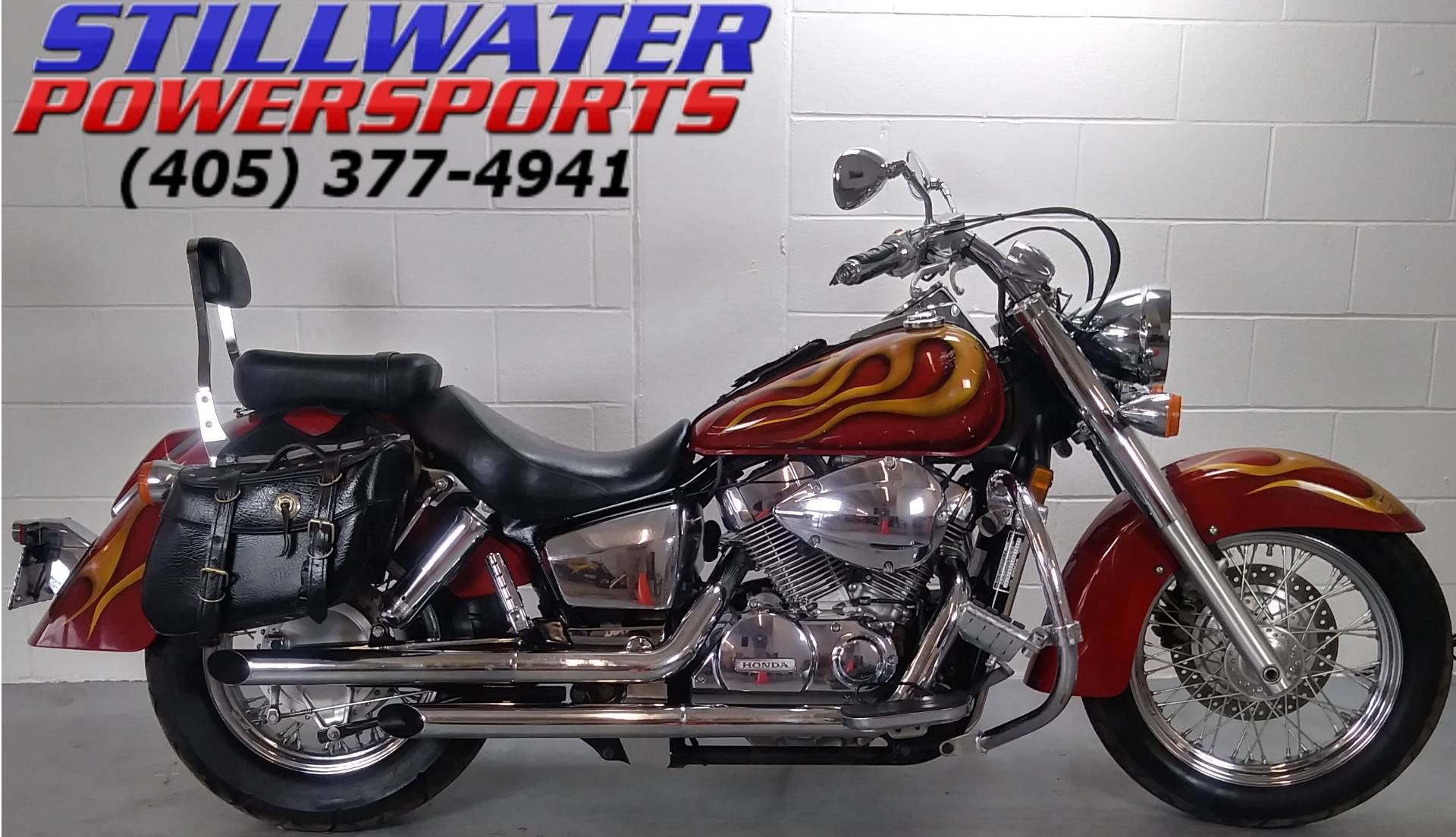 2004 Honda Shadow Aero in Stillwater, Oklahoma - Photo 1