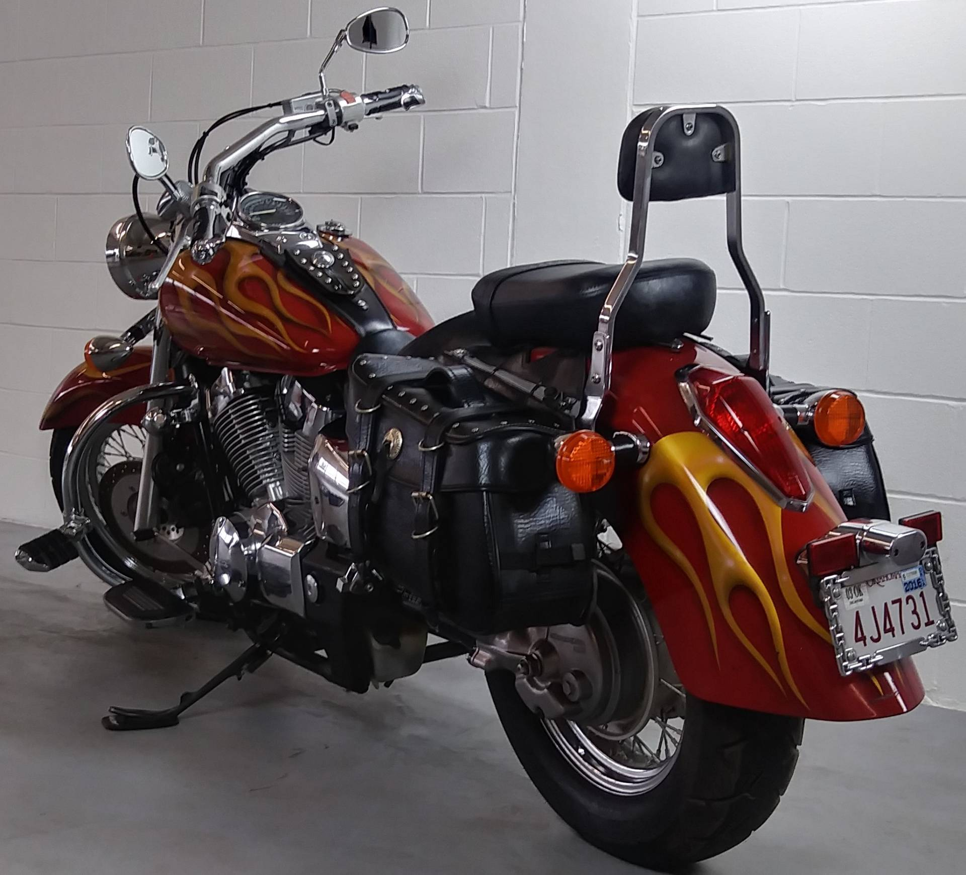 2004 Honda Shadow Aero in Stillwater, Oklahoma - Photo 5