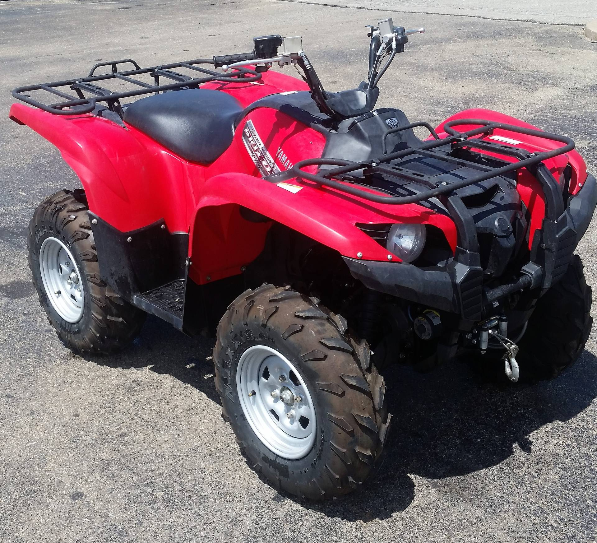 Used 2013 yamaha grizzly 700 fi auto 4x4 eps atvs in for Yamaha of stillwater