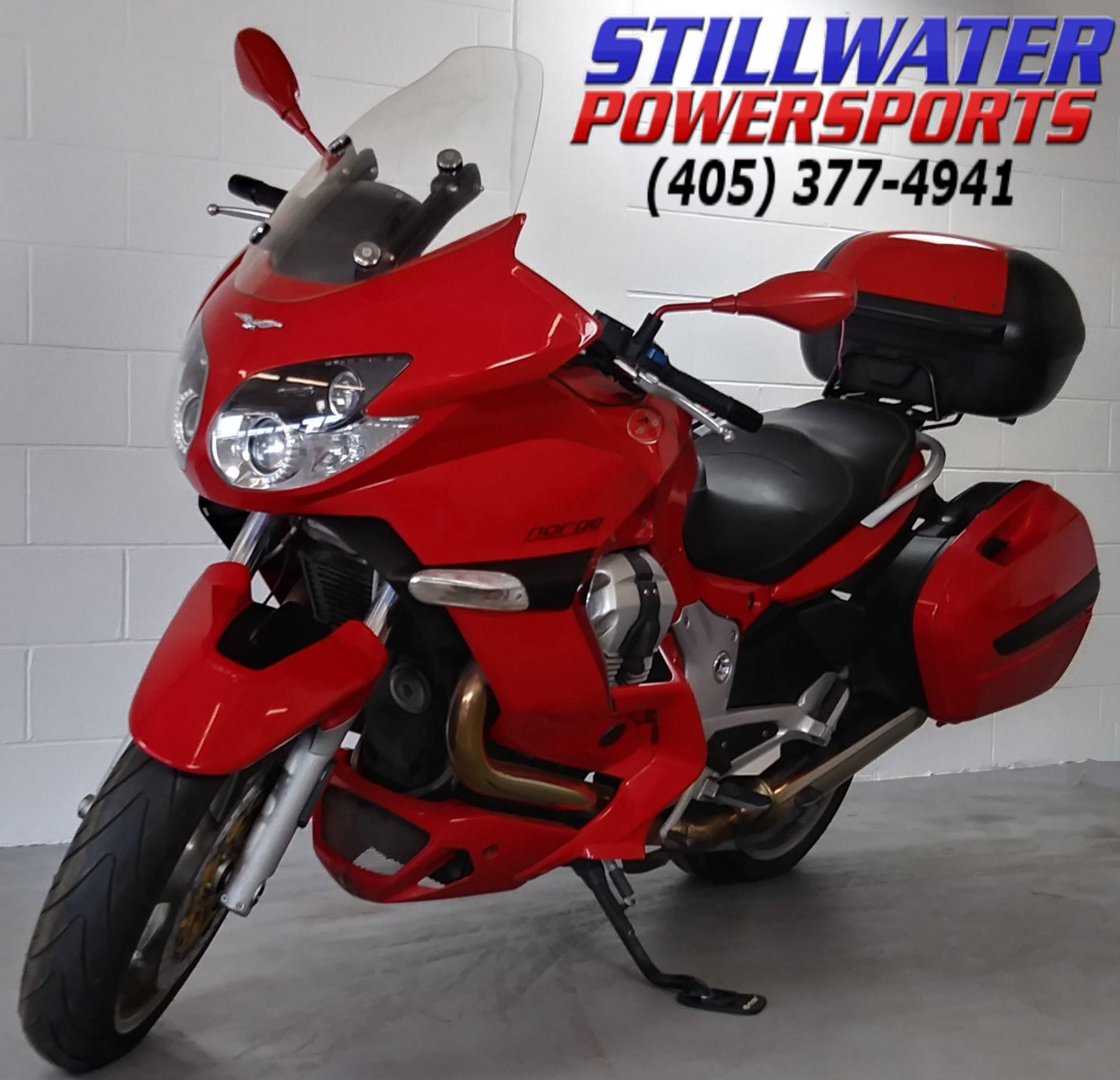 2008 Moto Guzzi Norge 1200 GT in Stillwater, Oklahoma - Photo 2