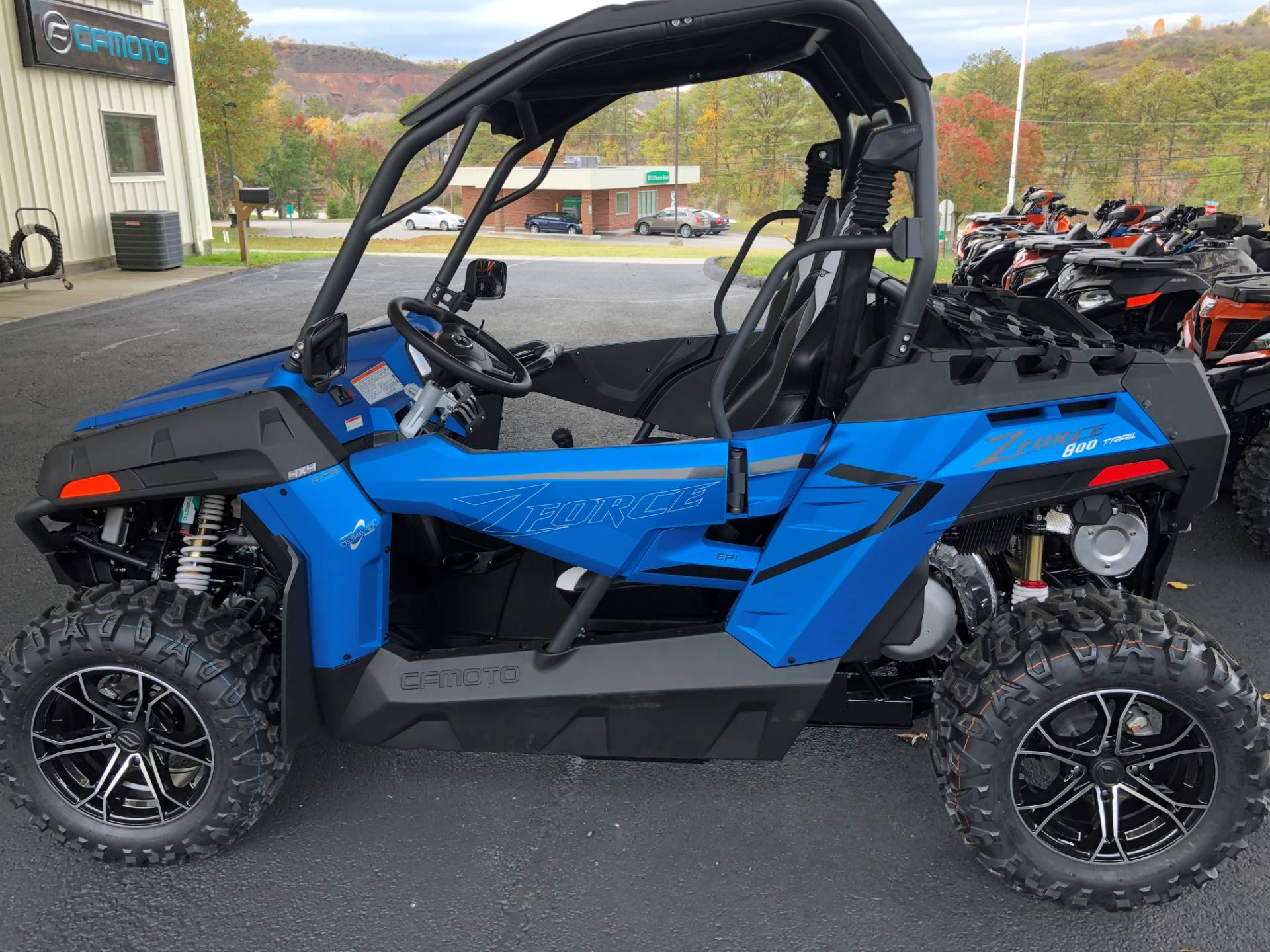 2021 CFMOTO ZForce 800 Trail in Slovan, Pennsylvania - Photo 1