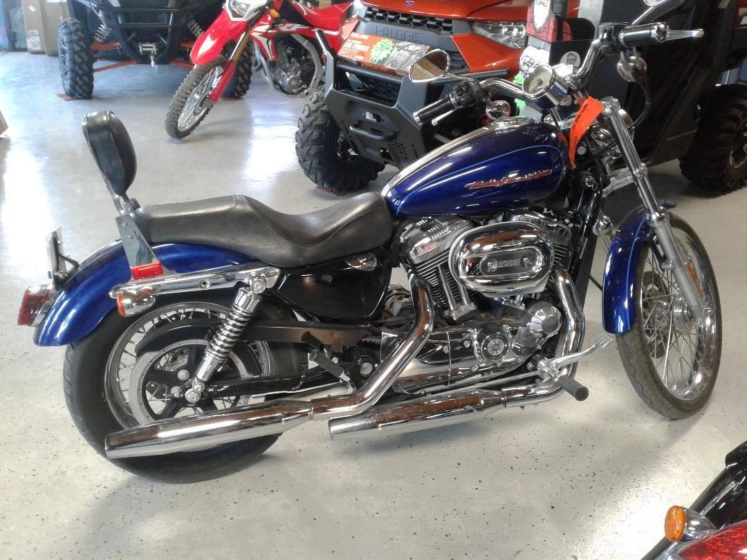 Used 2007 Harley Davidson Sportster 1200 Custom Motorcycles In Eastland Tx Stock Number Har406495