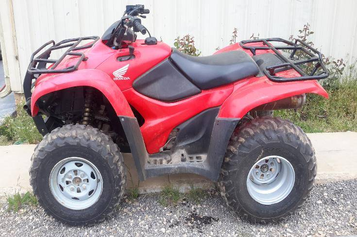 2011 Honda TRX420FM in Eastland, Texas