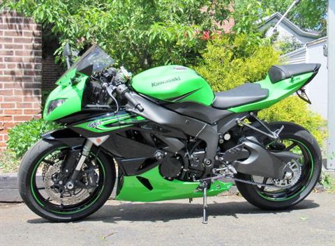 2011 Kawasaki Ninja® ZX™-6R in New Haven, Connecticut