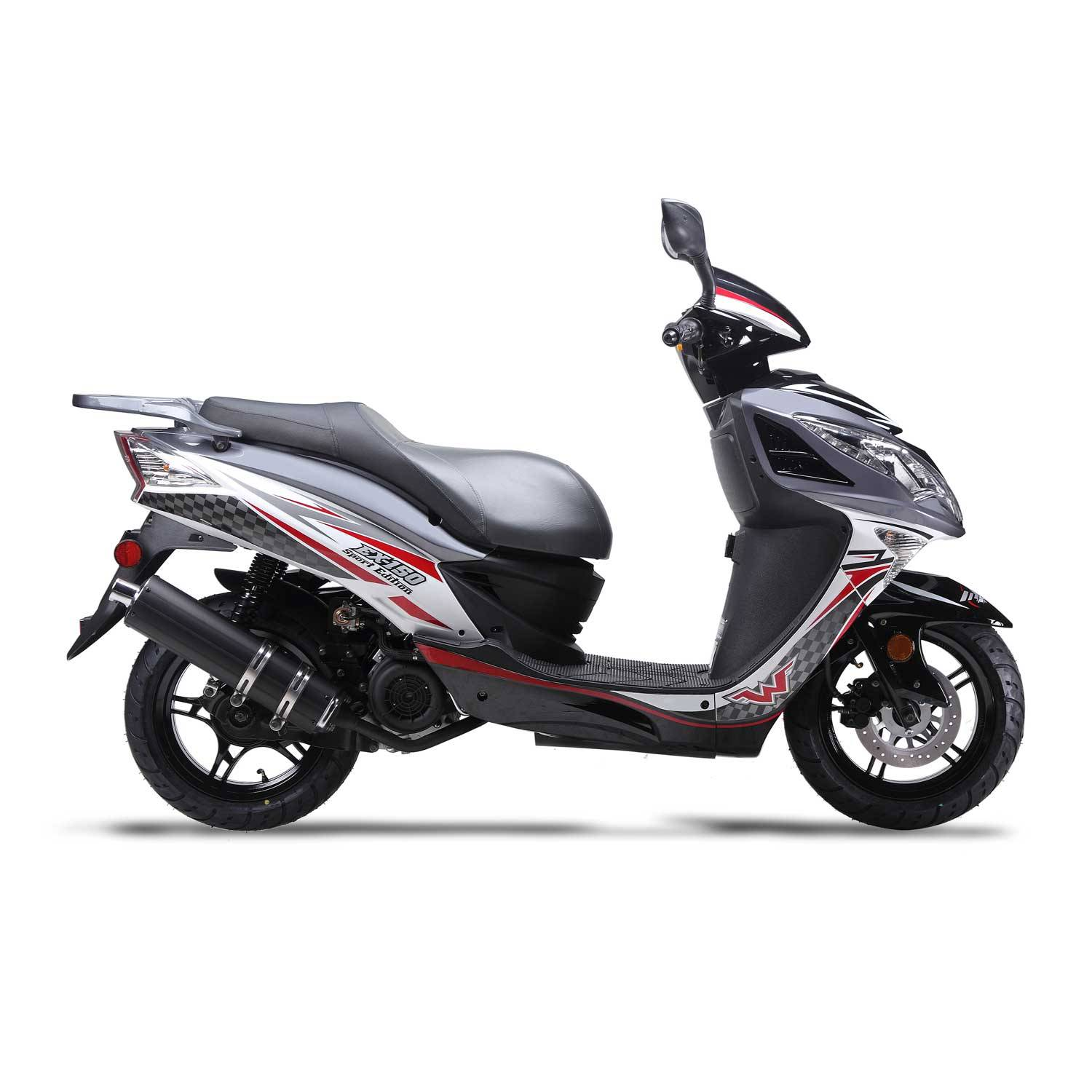 2018 Wolf Brand Scooters WOLF EX150 in New Haven, Connecticut