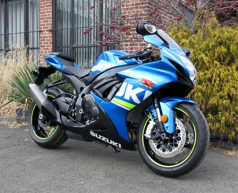 2017 Suzuki GSX-R600 in New Haven, Connecticut