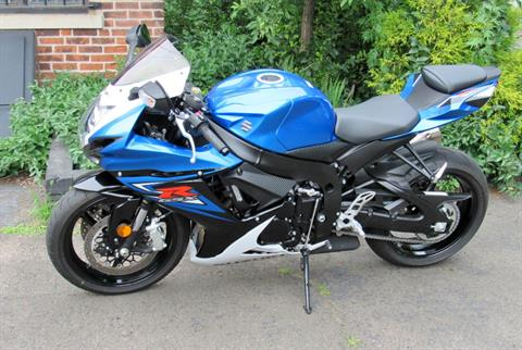 2014 Suzuki GSX-R600™ in New Haven, Connecticut