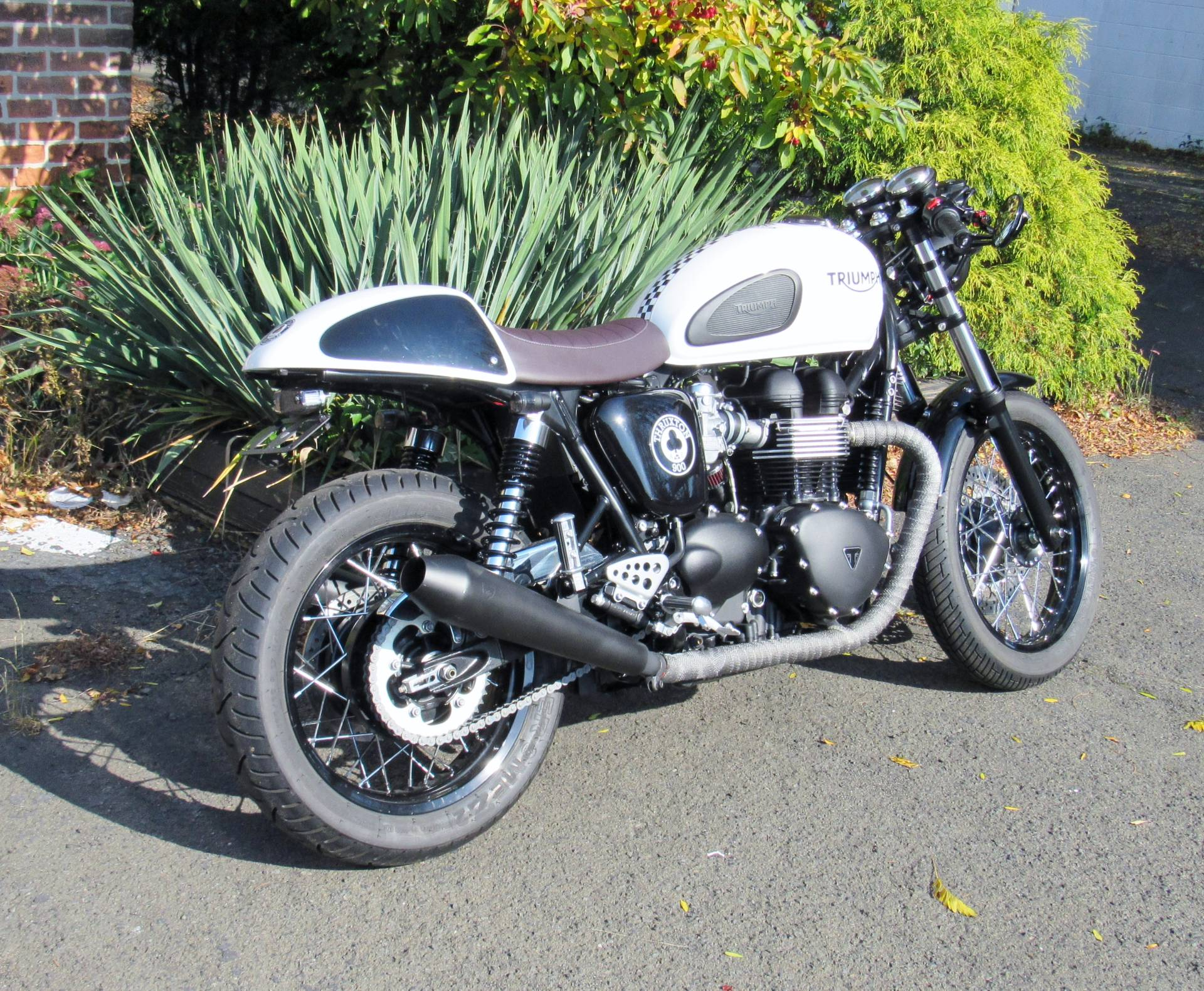 2015 Triumph Thruxton Ace in New Haven, Connecticut - Photo 3