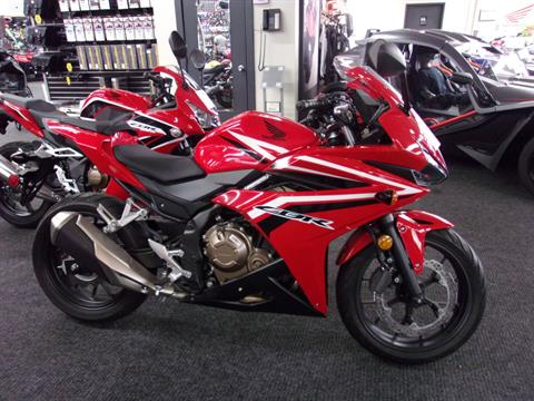 2017 Honda CBR500R in Philadelphia, Pennsylvania