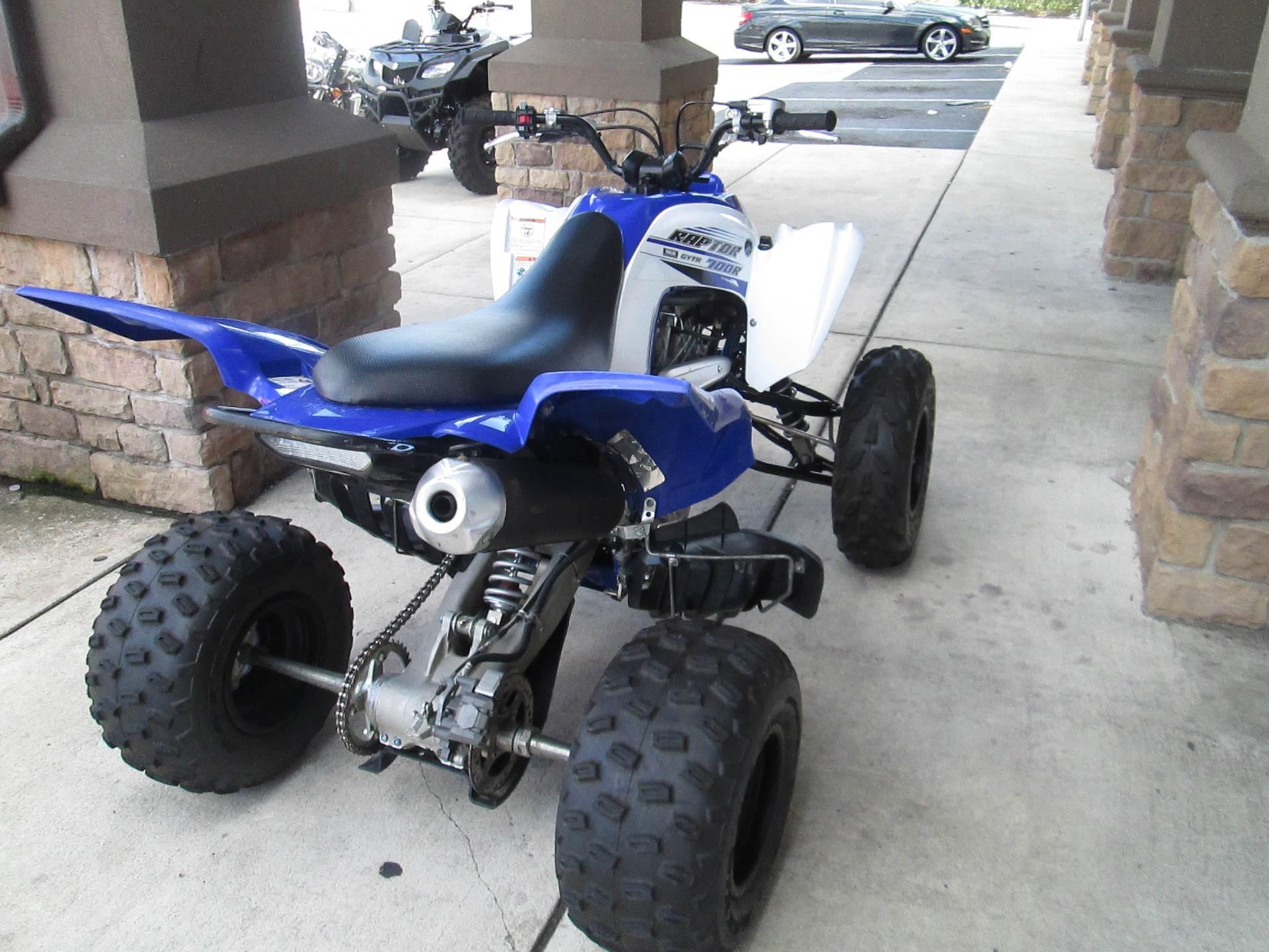 2016 Yamaha Raptor 700 4