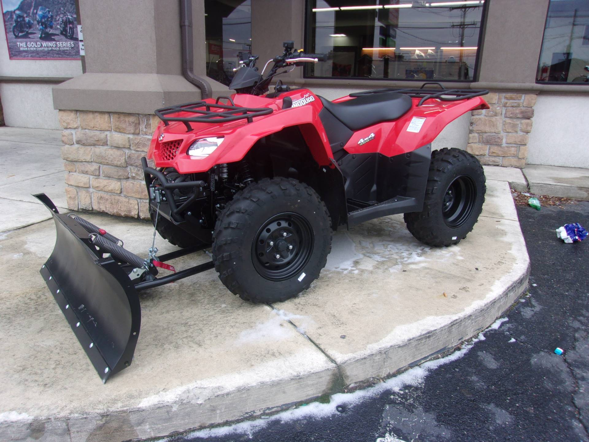2018 Suzuki KingQuad 400ASi in Philadelphia, Pennsylvania - Photo 2