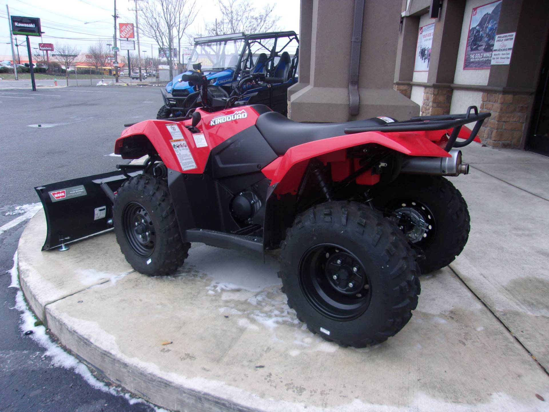 2018 Suzuki KingQuad 400ASi in Philadelphia, Pennsylvania - Photo 3
