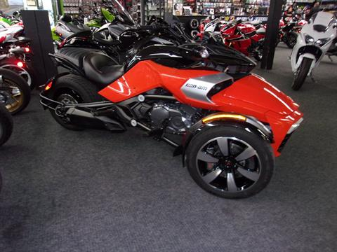 2015 Can-Am Spyder® F3-S SM6 in Philadelphia, Pennsylvania