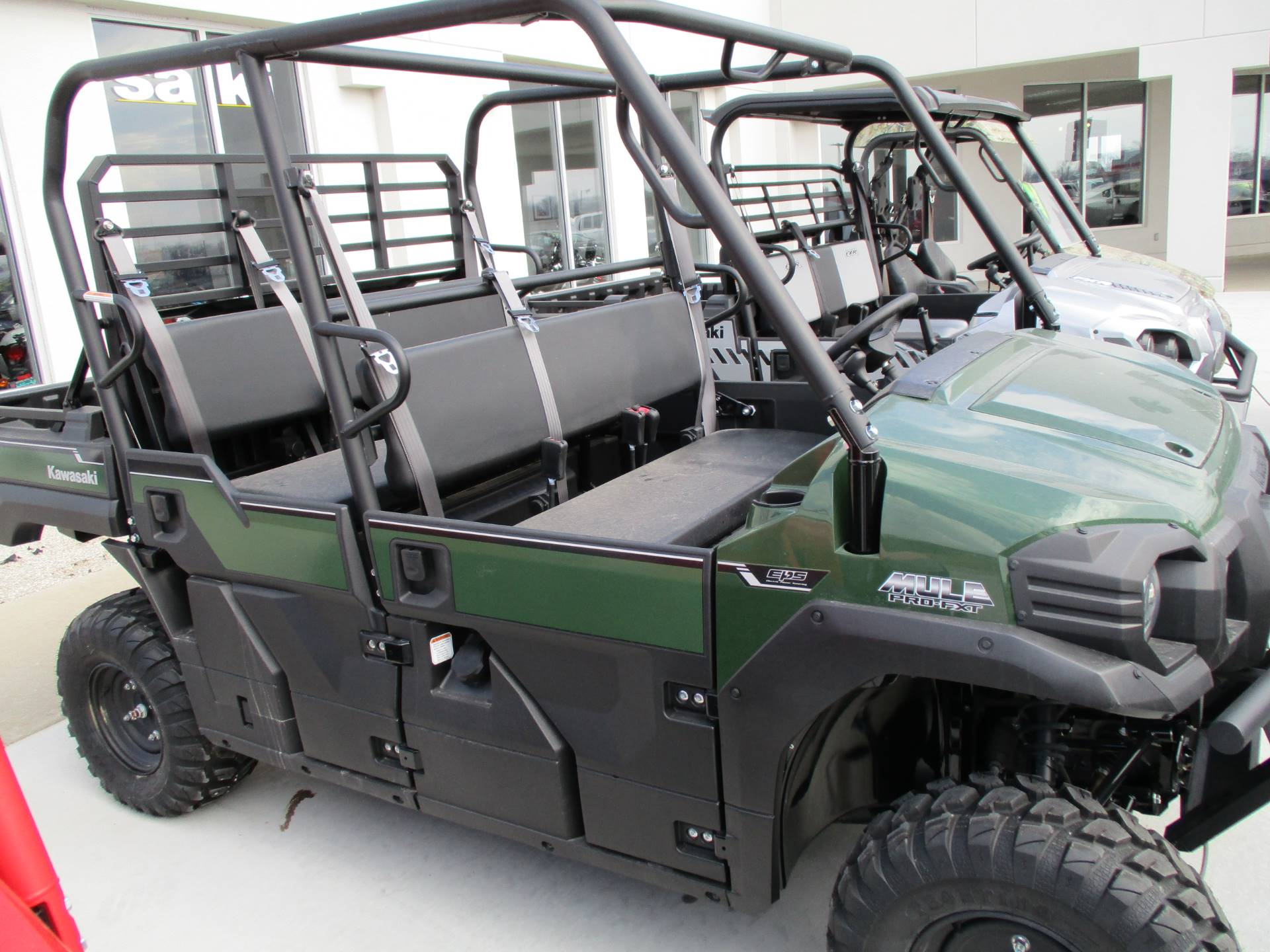 2017 Kawasaki mule pro fxt in Highland, Illinois