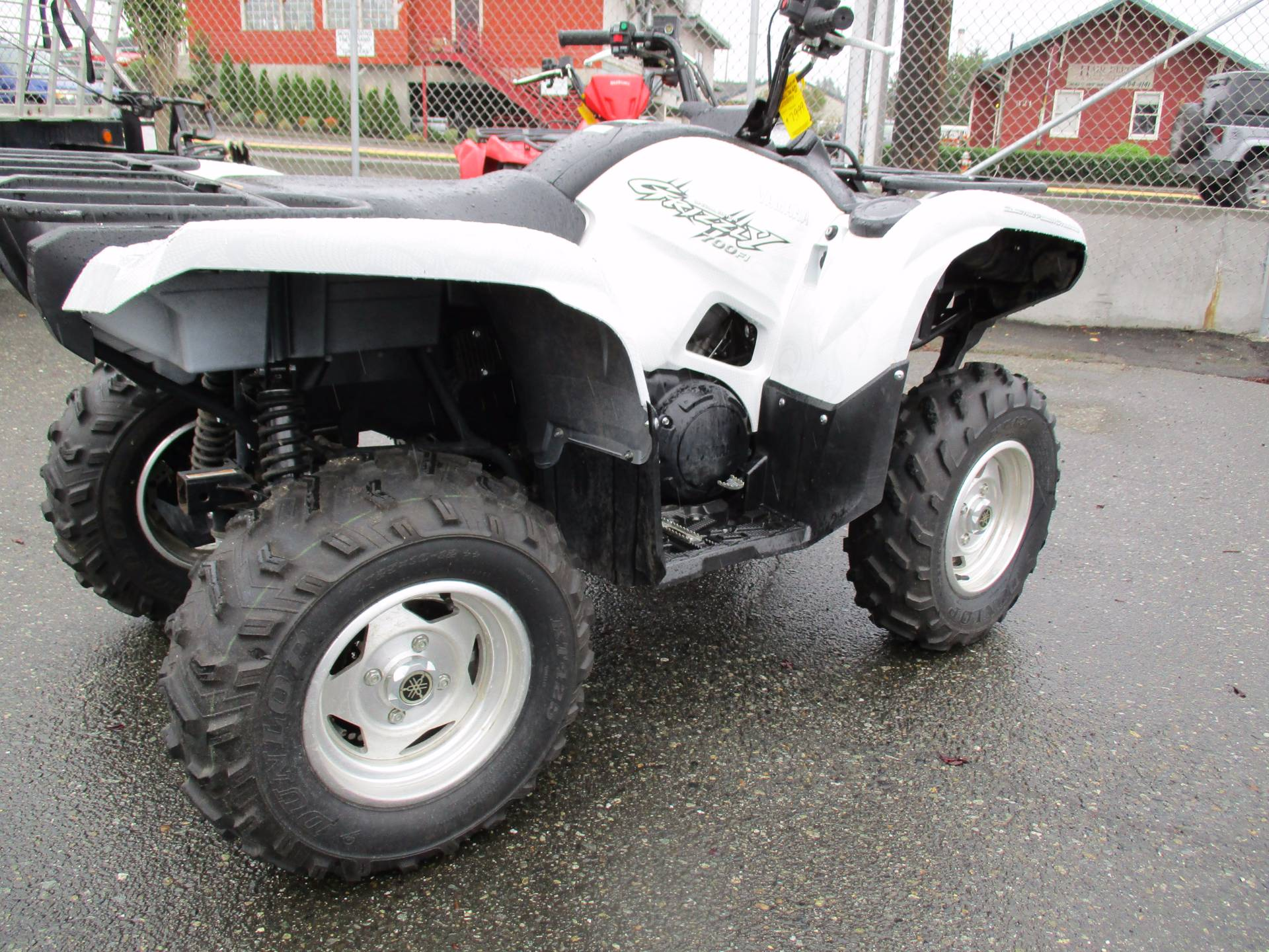 2010 Yamaha Grizzly 700 FI Auto. 4x4 EPS Special Edition in Monroe, Washington