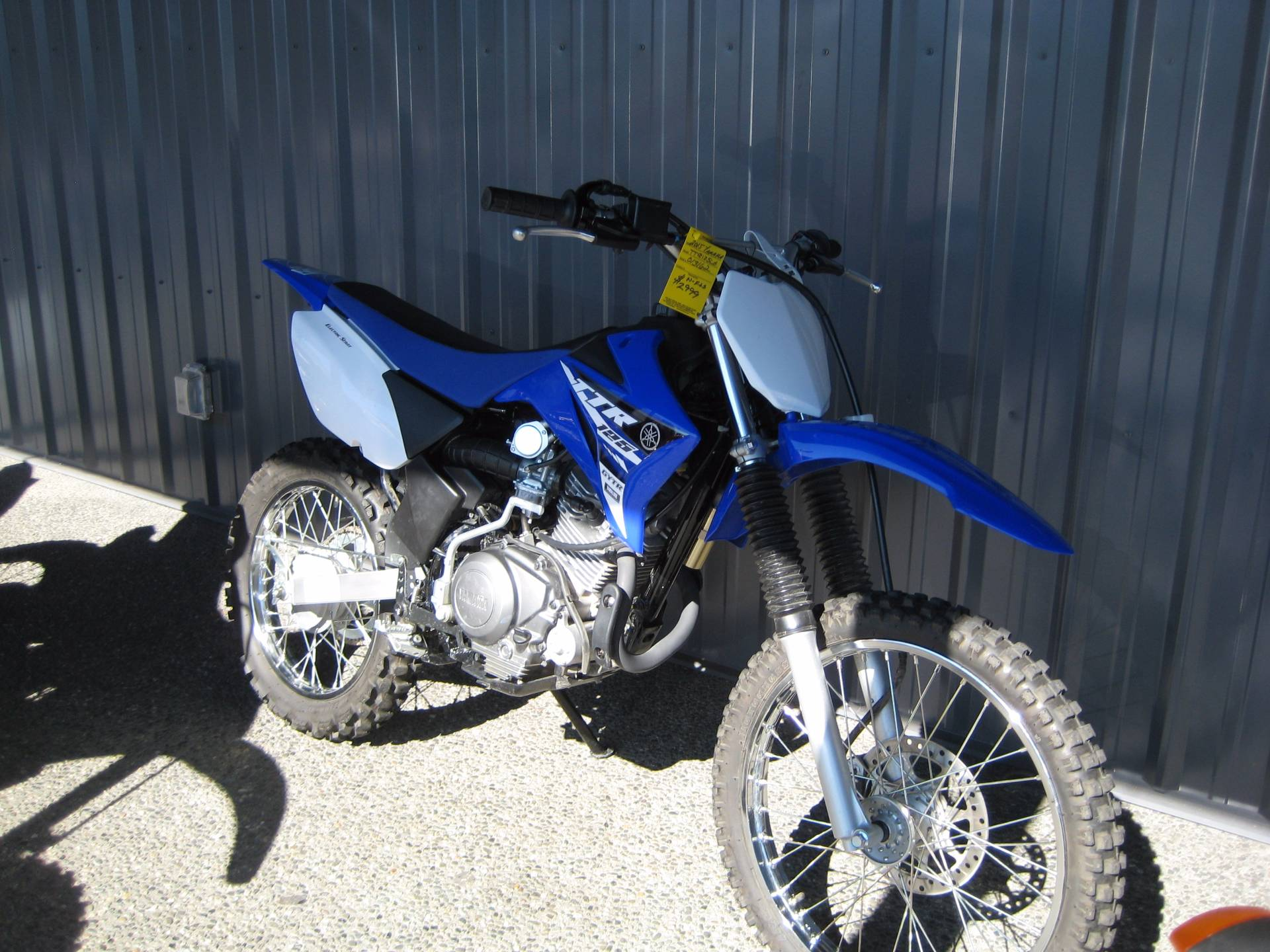 2015 Yamaha TT-R125LE in Monroe, Washington