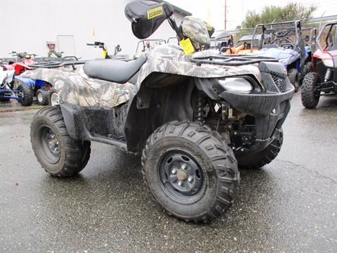 2014 Suzuki KingQuad® 500AXi Camo Power Steering in Monroe, Washington