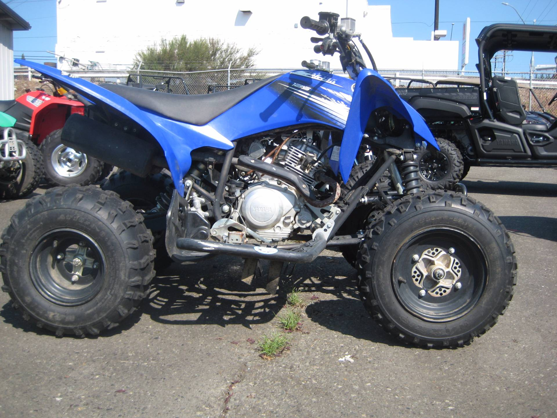 2012 Yamaha Raptor 125 in Monroe, Washington