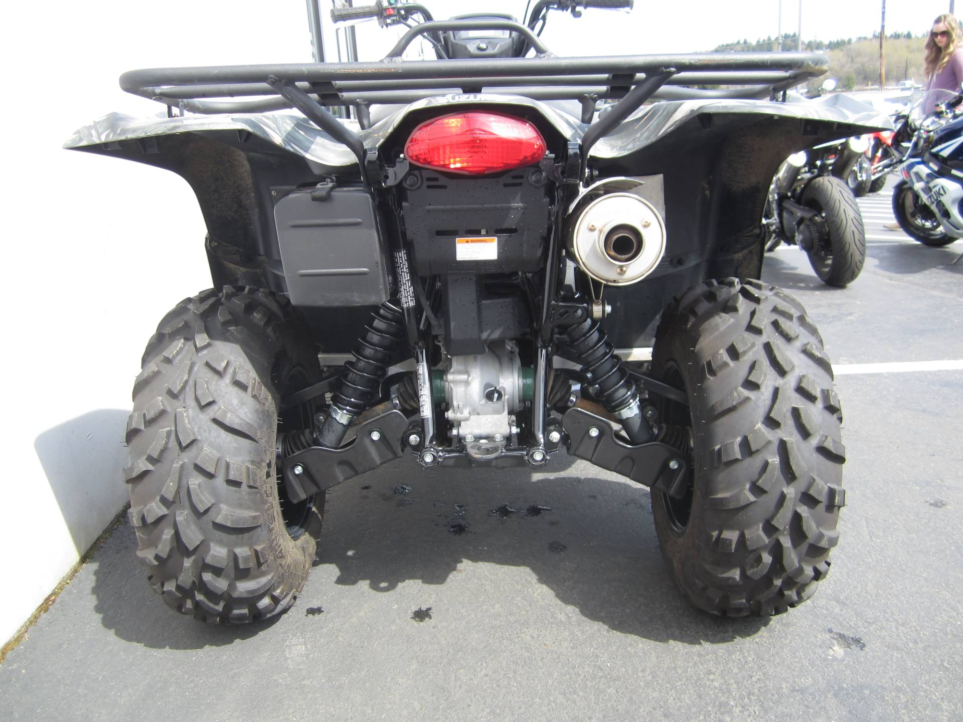 2016 Suzuki KingQuad 750AXi Power Steering Camo in Monroe, Washington