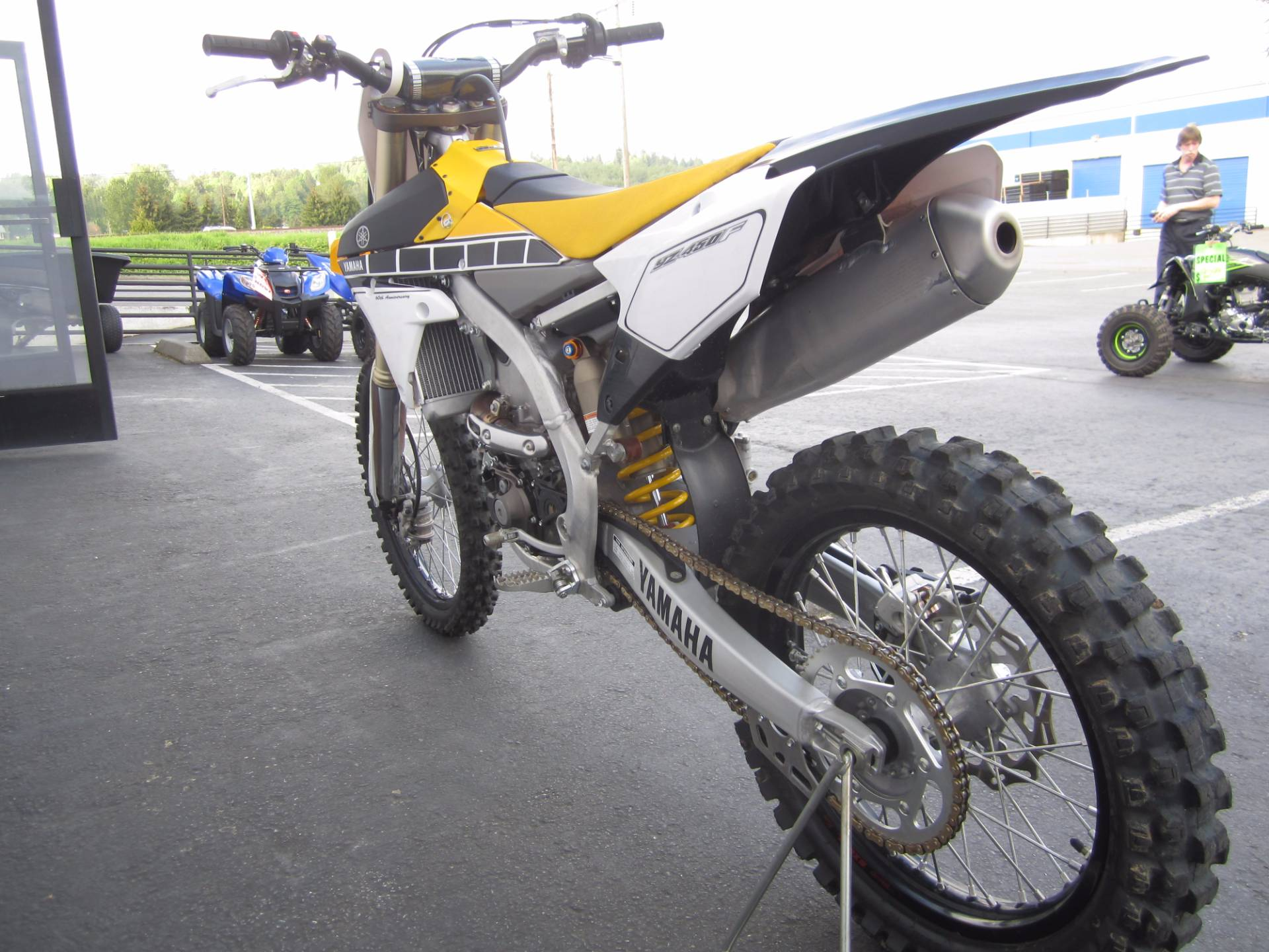 2016 Yamaha YZ450F in Monroe, Washington