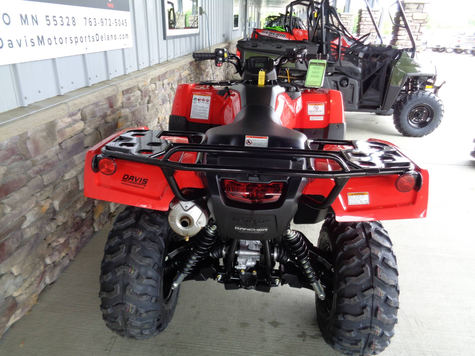 2021 Honda FourTrax Rancher 4x4 Automatic DCT IRS EPS in Delano, Minnesota - Photo 7