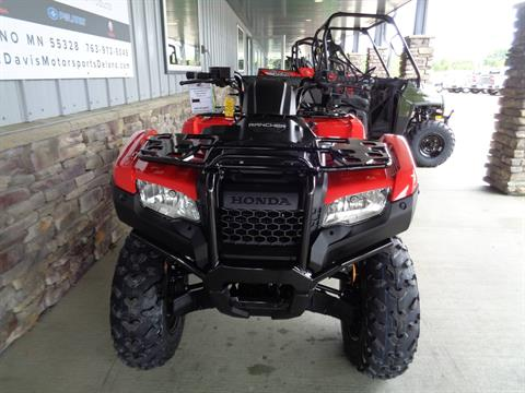2021 Honda FourTrax Rancher 4x4 Automatic DCT IRS EPS in Delano, Minnesota - Photo 8