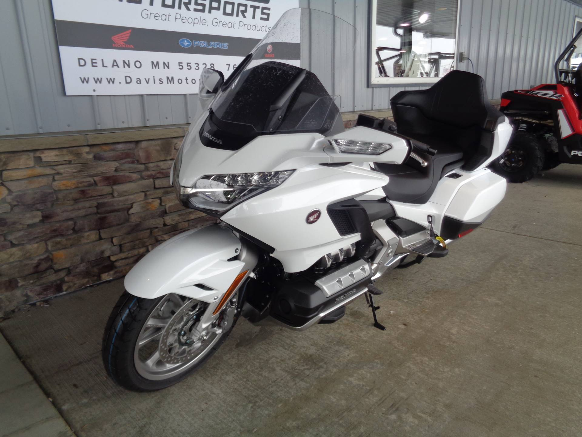 New 2018 Honda Gold Wing Tour Motorcycles In Delano Mn Na Pearl
