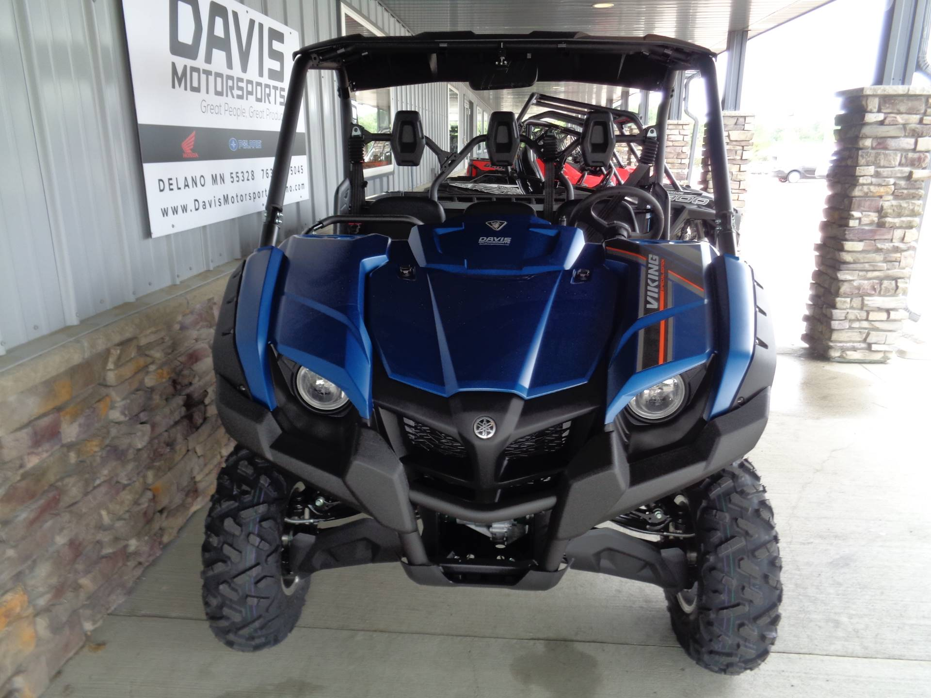 2019 Yamaha Viking EPS SE in Delano, Minnesota