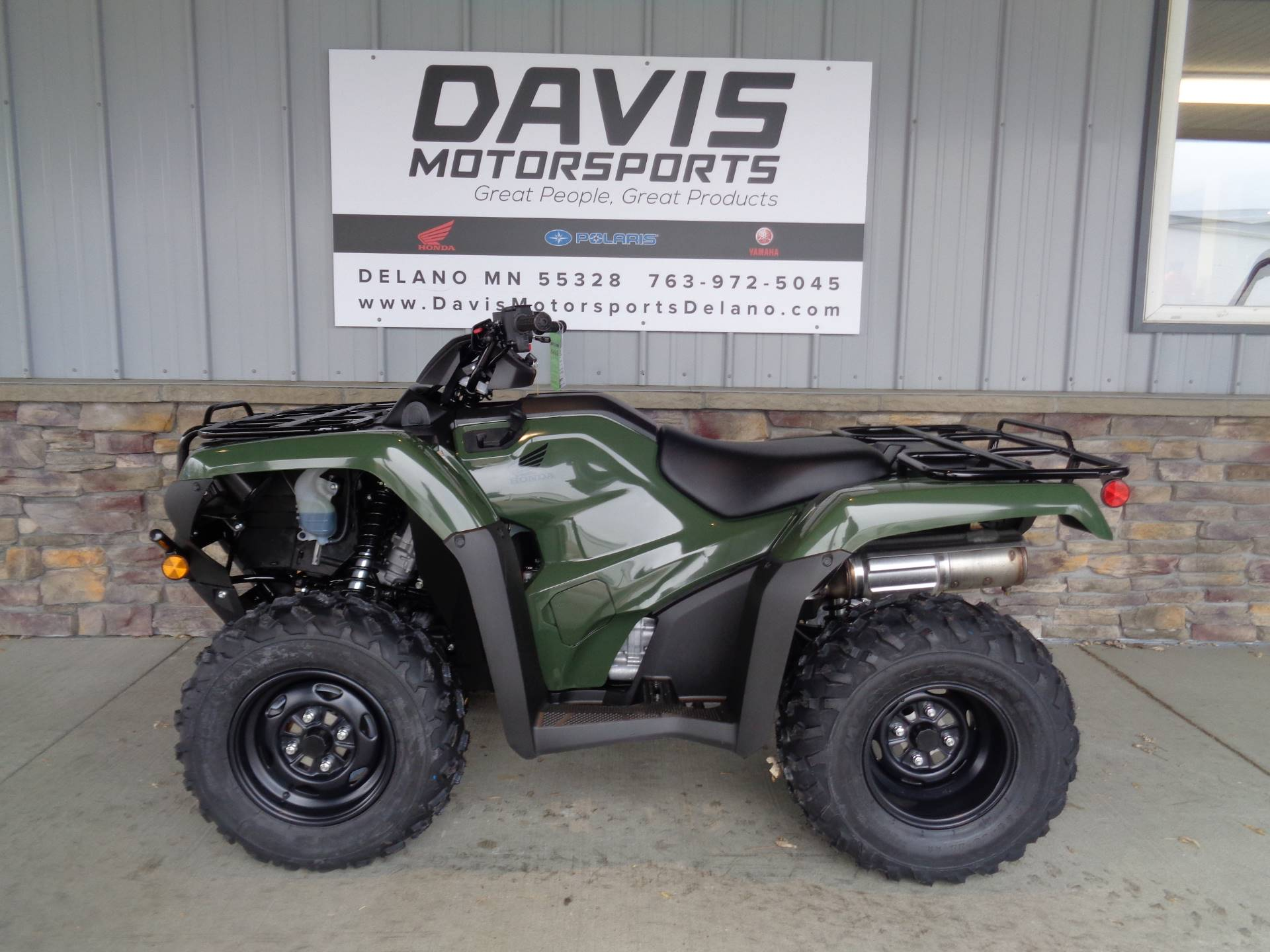 2019 Honda FourTrax Rancher 4x4 DCT EPS in Delano, Minnesota - Photo 2