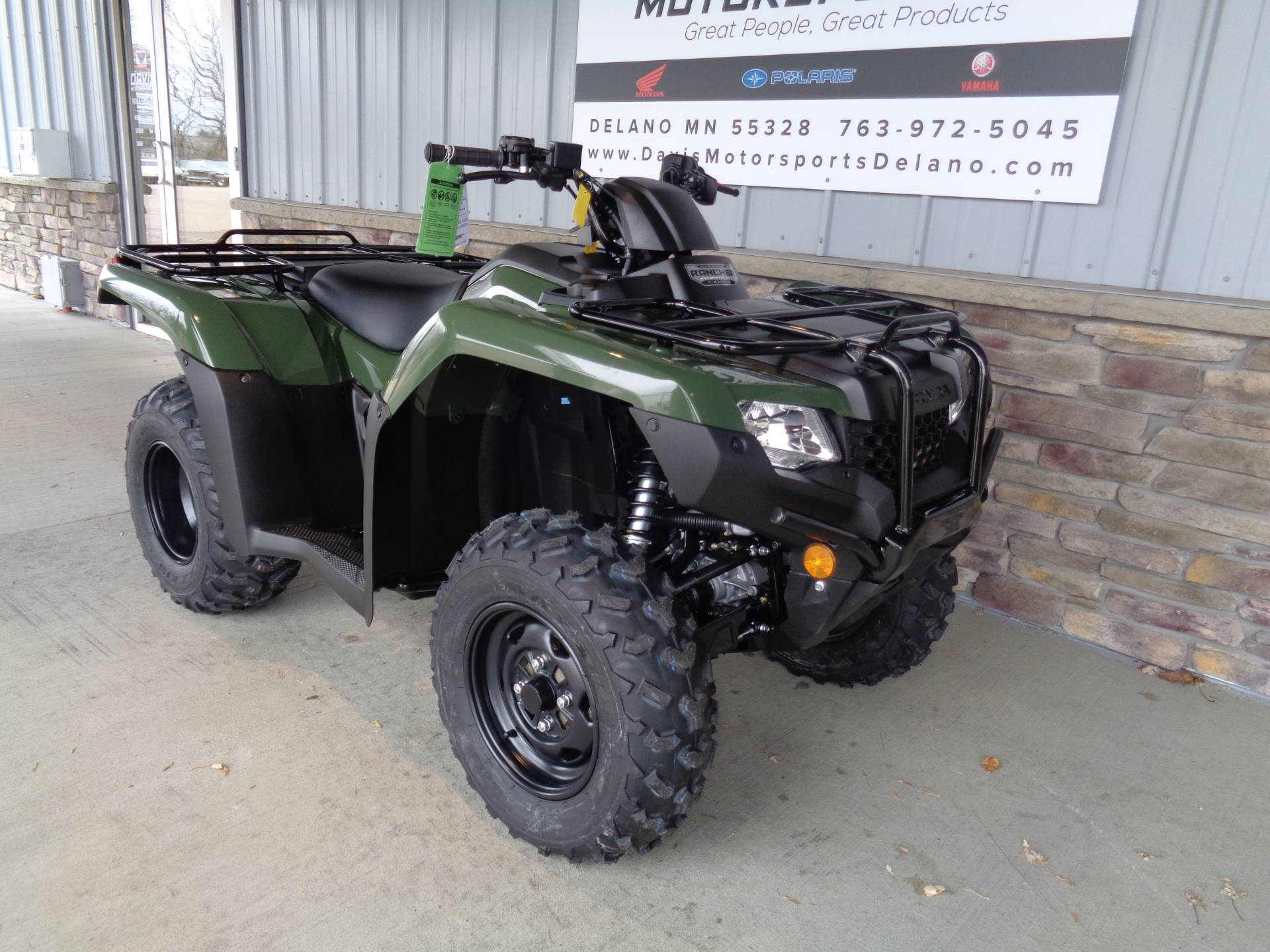 2019 Honda FourTrax Rancher 4x4 DCT EPS in Delano, Minnesota - Photo 3