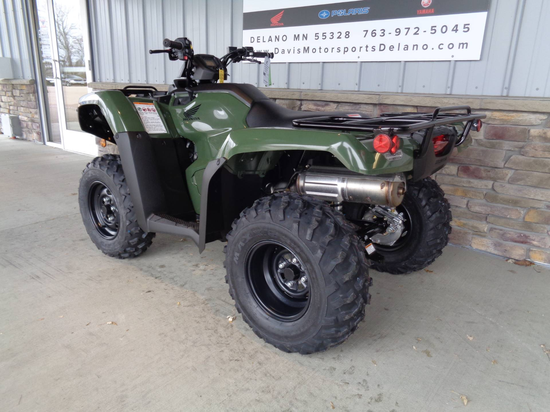2019 Honda FourTrax Rancher 4x4 DCT EPS in Delano, Minnesota - Photo 6
