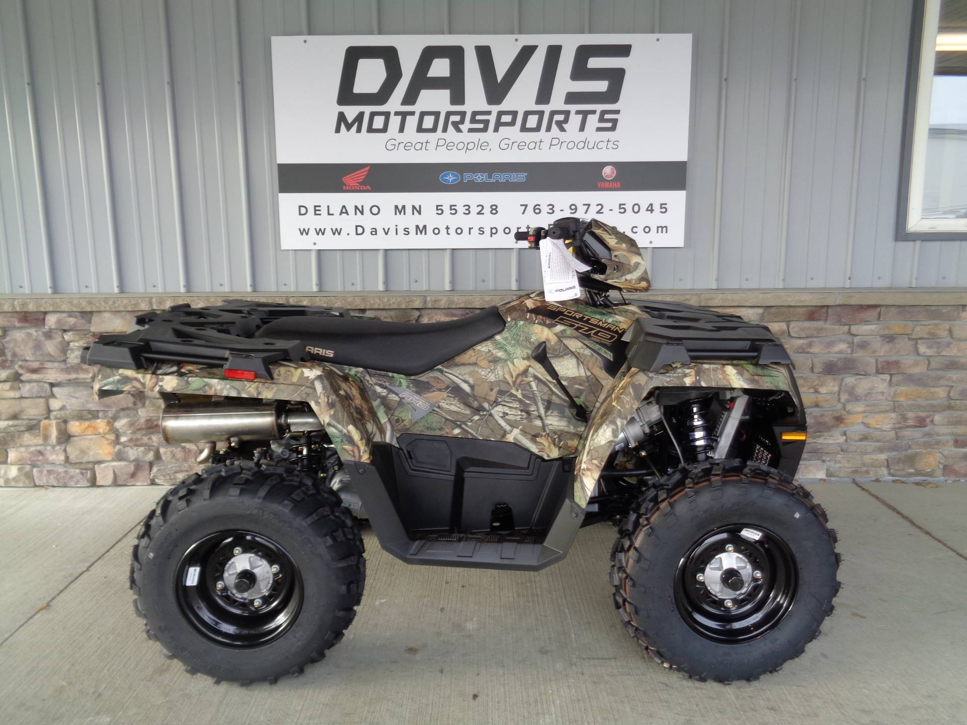 2019 Polaris Sportsman 570 Camo in Delano, Minnesota - Photo 1