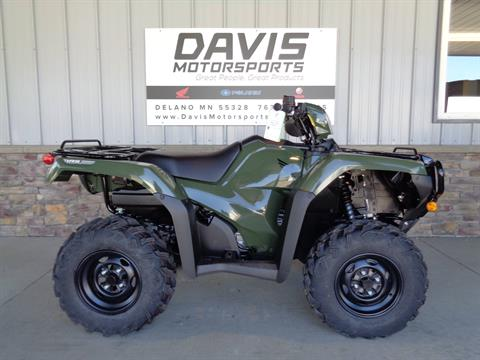2020 Honda FourTrax Foreman Rubicon 4x4 Automatic DCT EPS in Delano, Minnesota - Photo 1